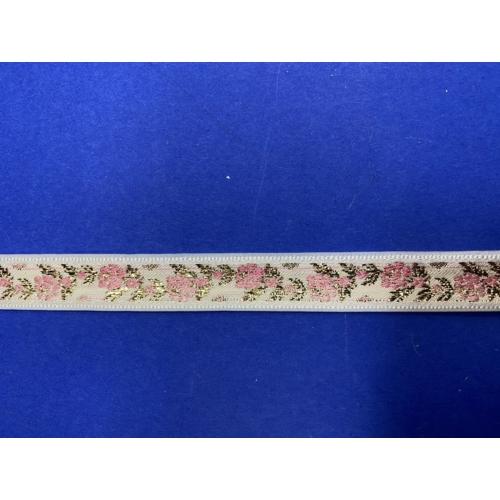 16011/ fehér-rózsaszín